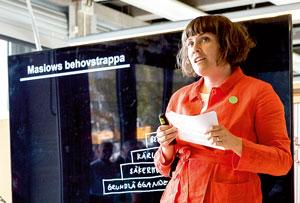 Elin Henriksson, kvinna, landskapsarkitekt