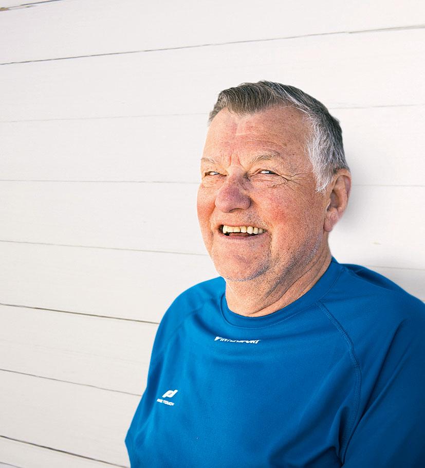 Porträtt på Sigurd Petersson
