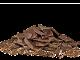 Hackad choklad