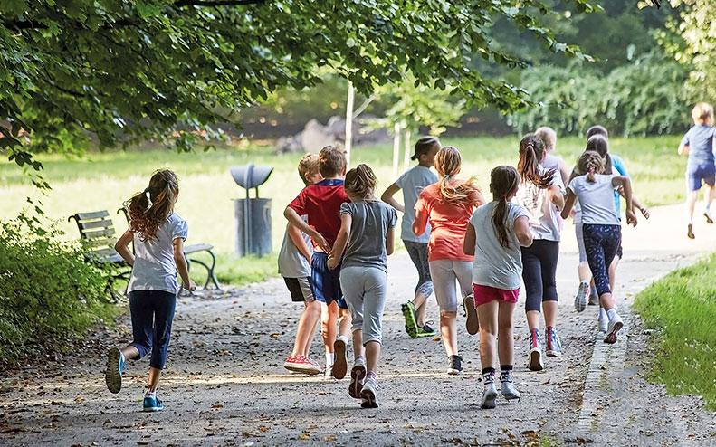 Fysisk aktivitet viktigt bland unga.
